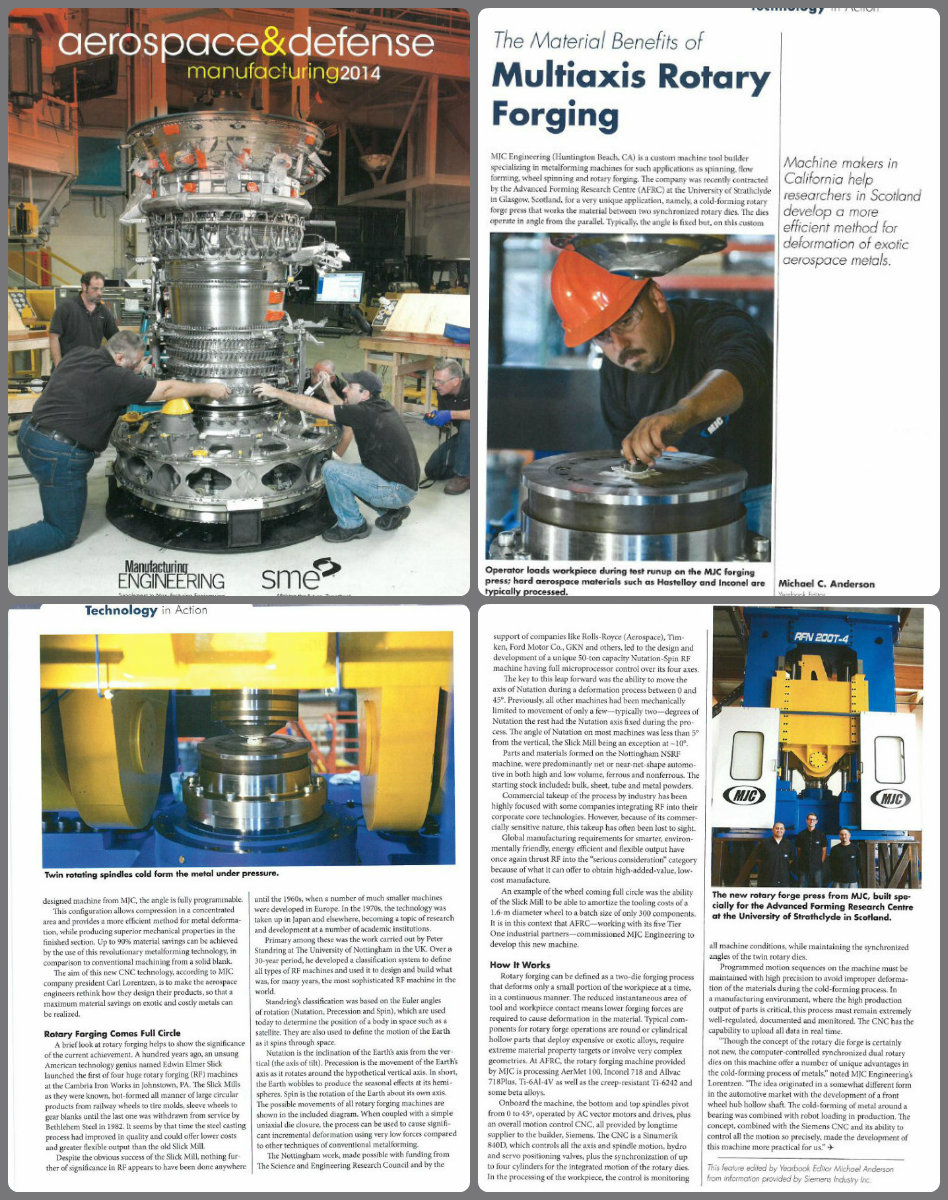 Aerospace & Defense Manufacturing Article